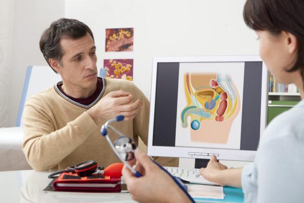 Урологичские проблемы у мужчин могут вызывать острую боль в левом боку