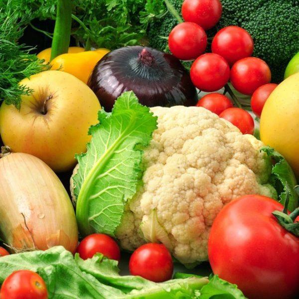 На втором этапе нужно отдать предпочтение растительной пище