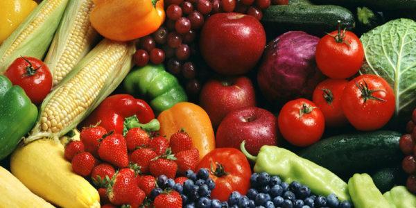 Свежие овощи и фрукты под запретом