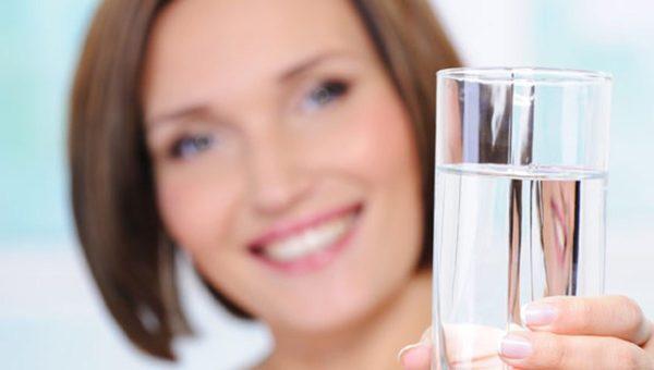 Необходимо пить достаточно воды