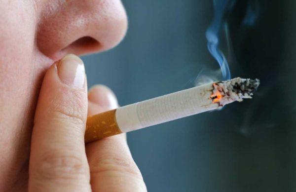 Курение провоцирует гастрит
