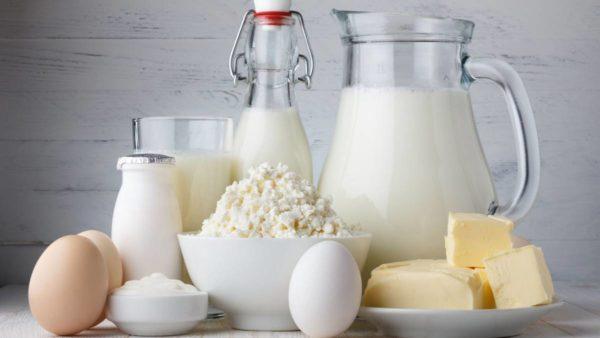 От молочных продуктов на время нужно отказаться