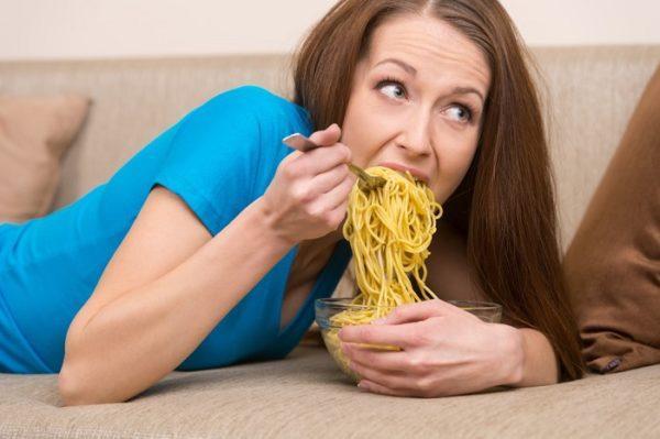 Еду нужно пережевывать тщательно