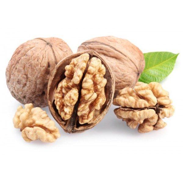 Грецкий орех -содержит более 20 аминокислот