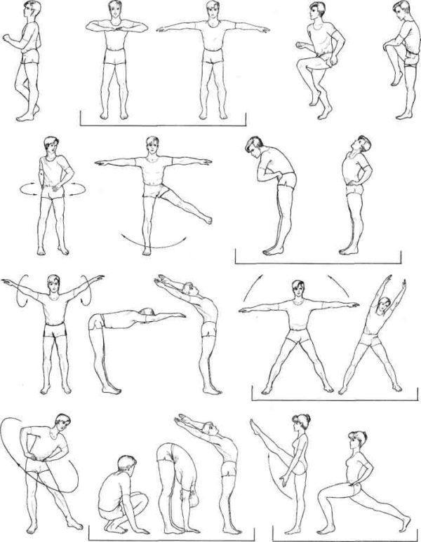 Упражнения для тюбажа