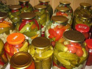 Домашние заготовки, консервированная продукция