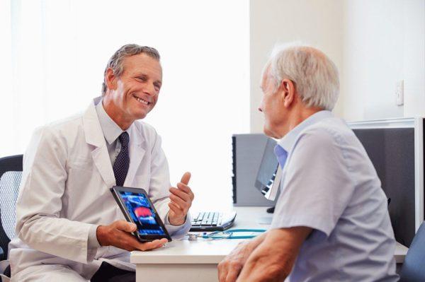 полное выздоровление наблюдается в 80% случаев при обнаружении рака на 1-2 стадиях