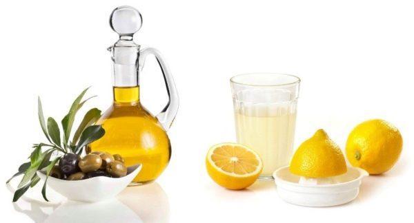 Оливковое масло и сок лимона - отличное очищающее организм средство