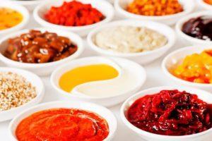 Специи и соусы