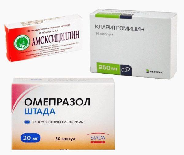 Антибиотики для лечения хилобактериоза