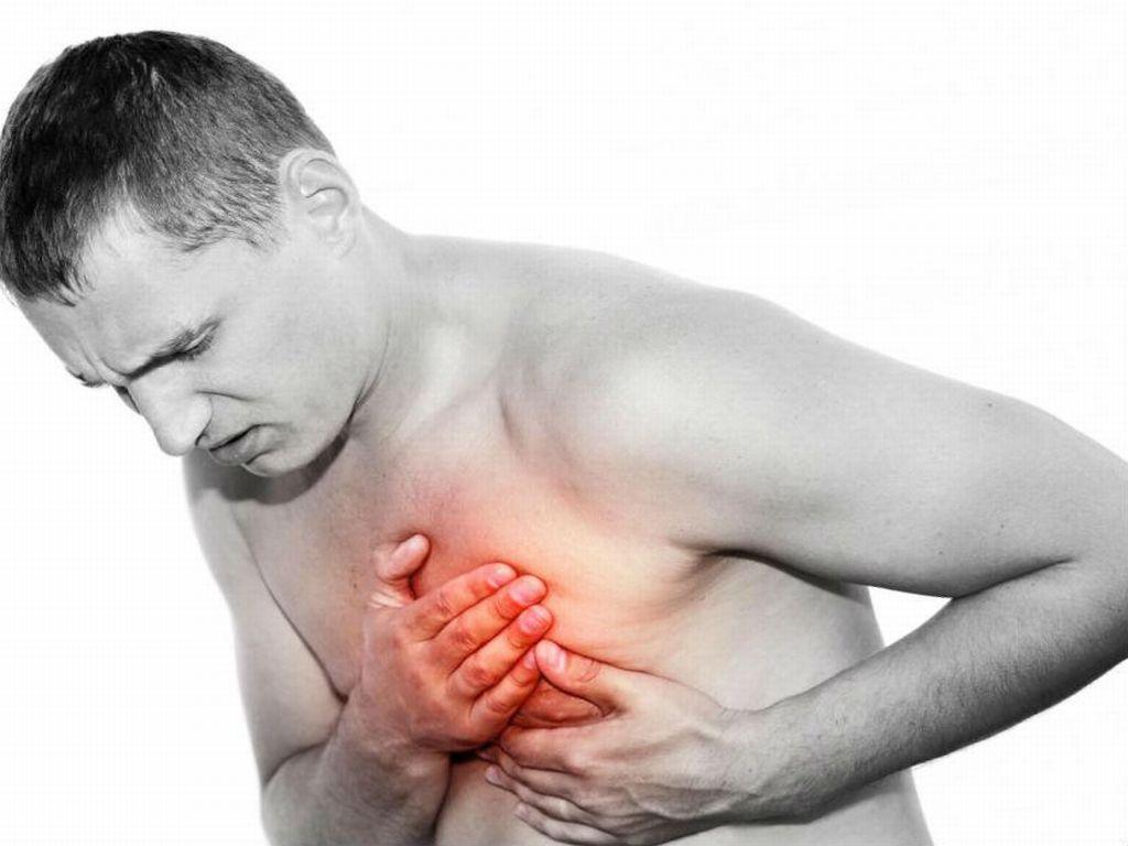 Головокружение холодный пот боли в груди
