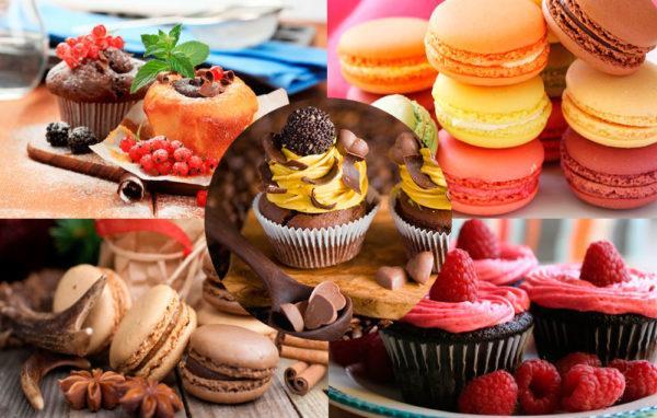 Десерты продаваемые в магазинах