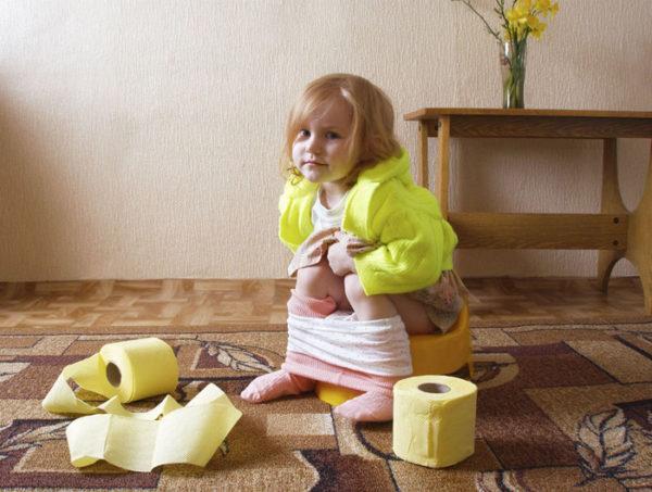 Есть немало причин жидкого стула у ребенка