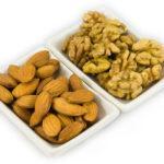 Грецкие и миндальные орехи