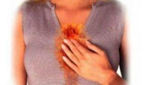 Химический или термический ожог слизистой, пищевая инфекция