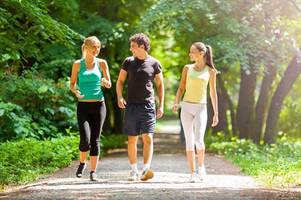 Ходьба полезна для здоровья кишечника
