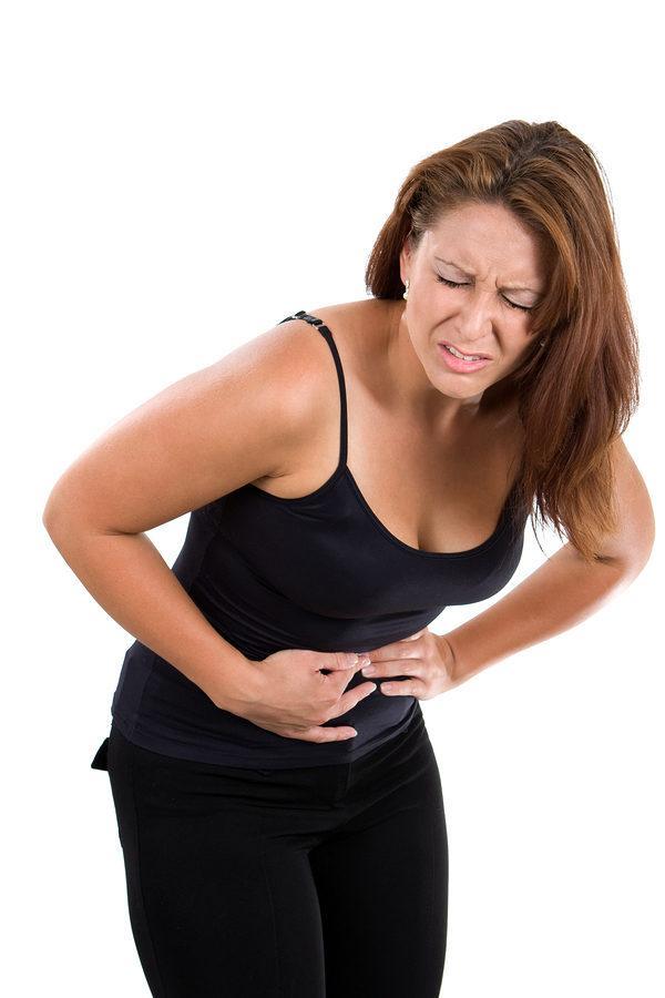 Интенсивна боль в животе - симптом ишемической стадии инфаркта кишечника