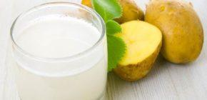Картофельный сок при гастрите с повышенной кислотностью