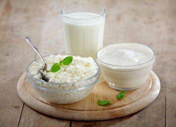 Кисломолочные продукты для питания кормящей мамы