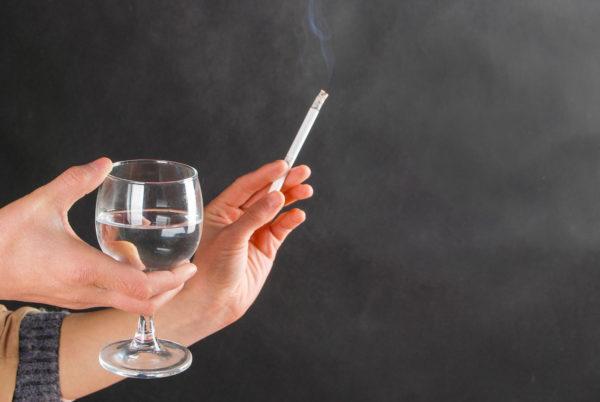 Курение и злоупотребление спиртным