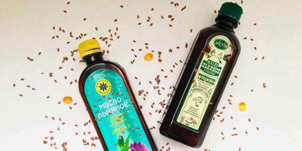Льняное масло должно храниться в темной бутылочке, в прохладном месте