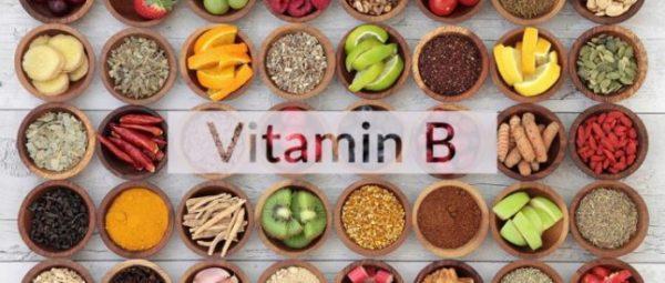 Меню должно состоять из продуктов, содержащих витамин В
