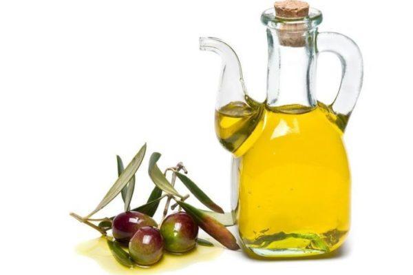"Оливковое масло - компонент салата ""Щётка"""