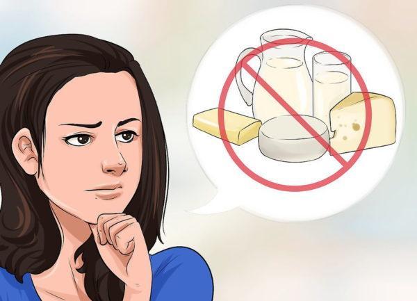 Откажитесь от молока и сыра