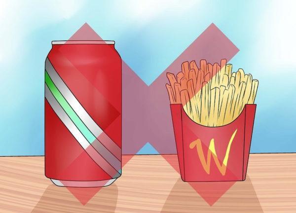 Откажитесь от вредной пищи