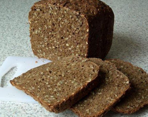 Отрубной хлеб с семенами подсолнечника не допускается для употребления больными гастритом с пониженной кислотностью