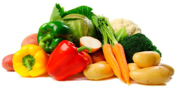 Овощи - неотъемлемый компонент диеты для профилактики запоров в период беременности