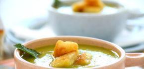 Овощной суп-пюре со сливками