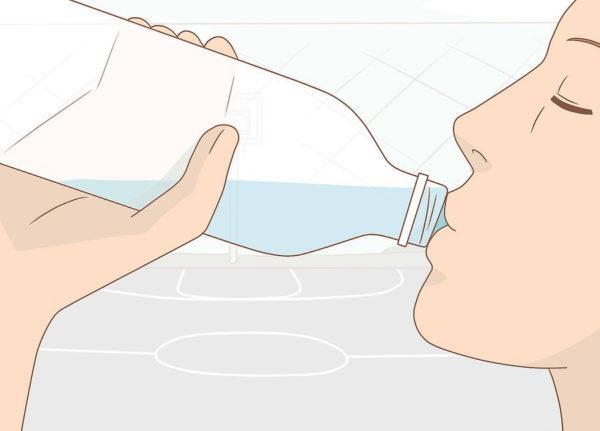 Пейте как можно больше воды