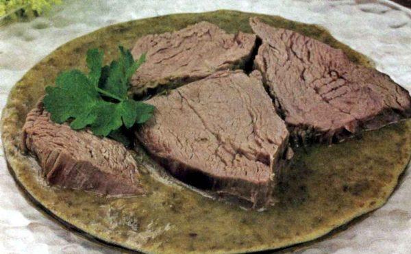 Питание при калькулезном холецистите: отварное мясо