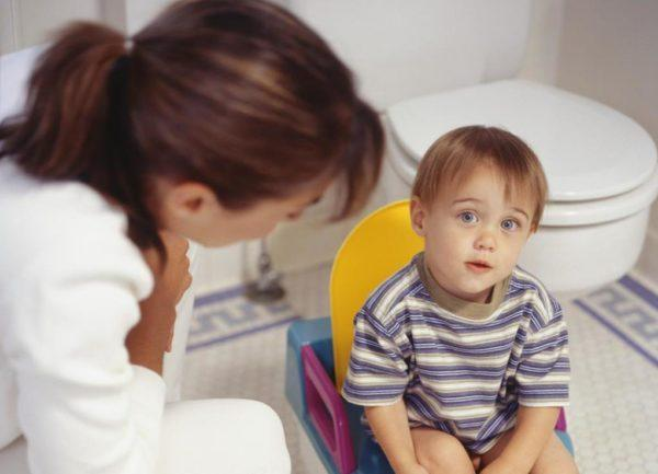 При поносе ребенок должен соблюдать специальную диету