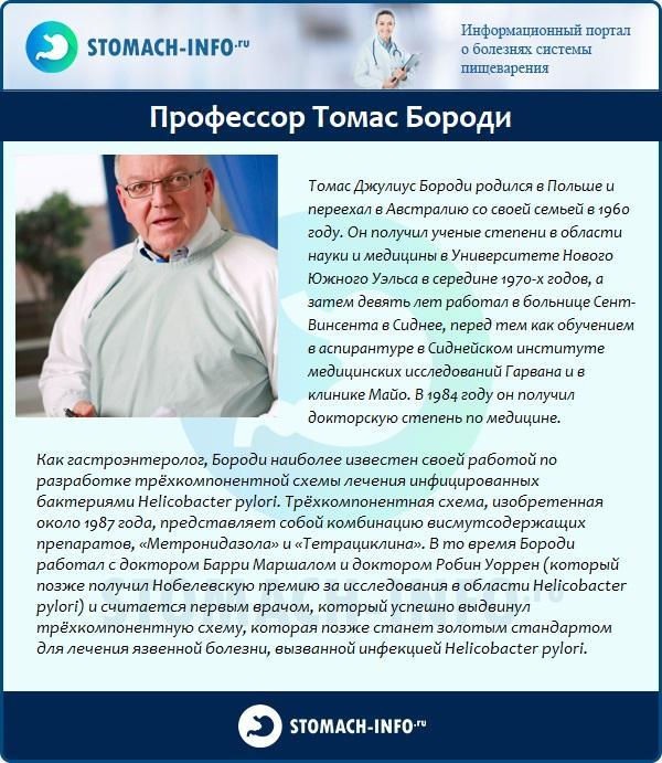 Профессор Томас Бороди