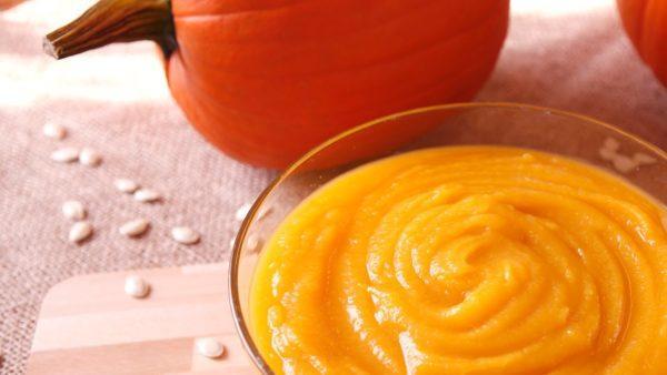 Пюре из тыквы - полезное и очень вкусное блюдо для детского питания