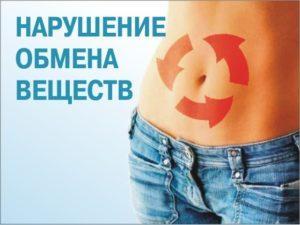 Сбой метаболизма (обмен веществ)