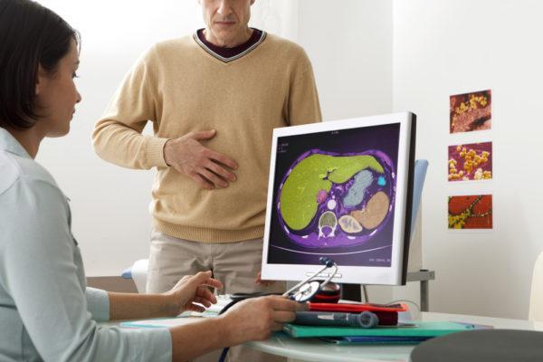 Густая желчь в желчном пузыре: причины, симптомы и лечение