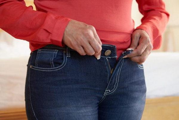 Стоит избегать ношения сдавливающей одежды