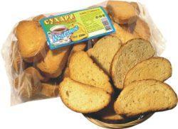 Сухари из пшеницы в объеме не более 50 грамм/cутки