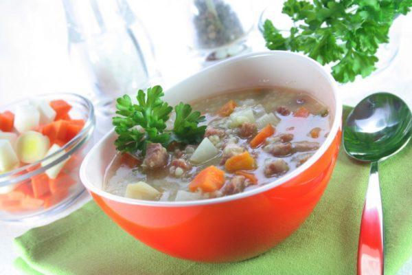 Супы при болезнях ЖКТ варятся на овощном бульоне