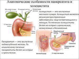 Указывает на наличие острого воспаления или хронического в стадии обострения, холецистита, панкреатита