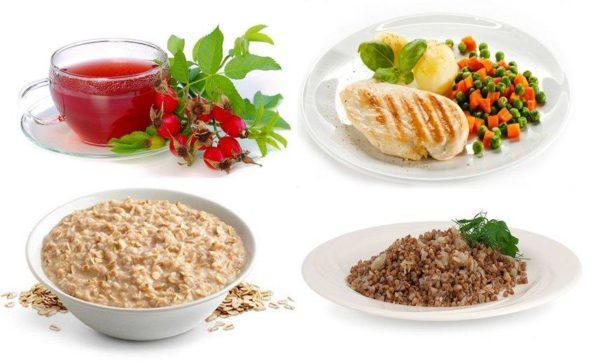 В питании должен соблюдаться баланс витаминов и элементов, приносящих пользу при обострении болезни