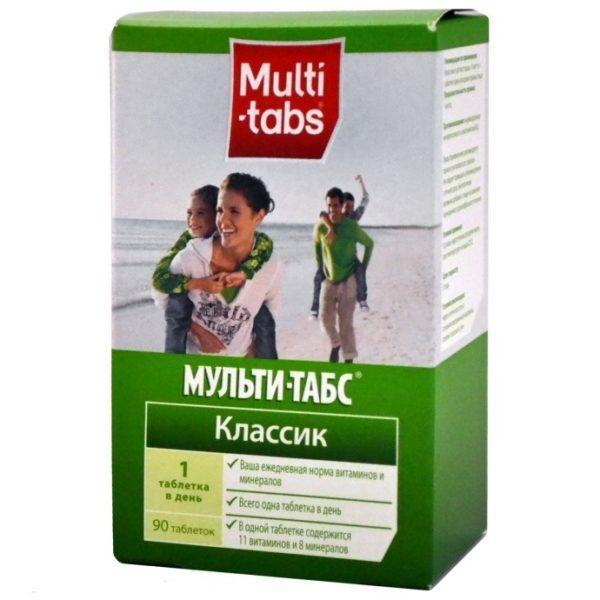 Витамины «Мульти-табс»