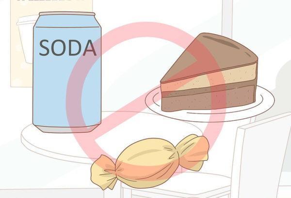 Воздержитесь от употребления фруктов и сладостей
