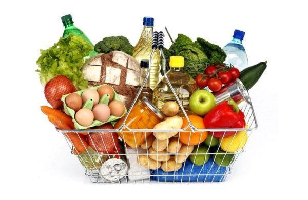 Все продукты должны быть свежими