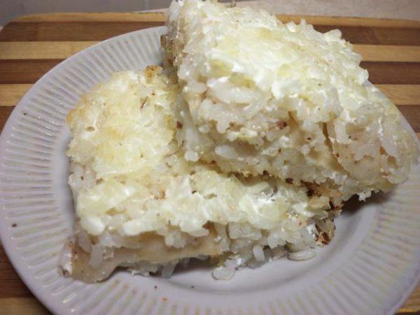 Запеканка из риса