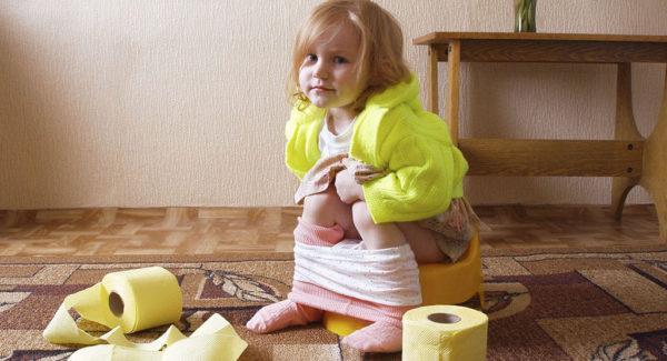 Зеленый стул может быть симптомом заболеваний