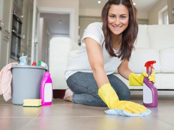 В доме необходимо поддерживать чистоту